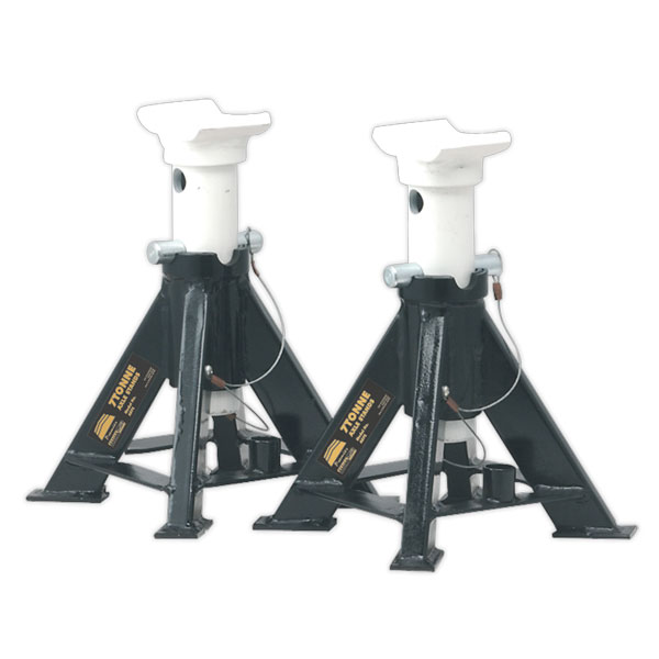 Sealey AS7S Axle Stands (Pair) 7tonne Capacity per Stand Short
