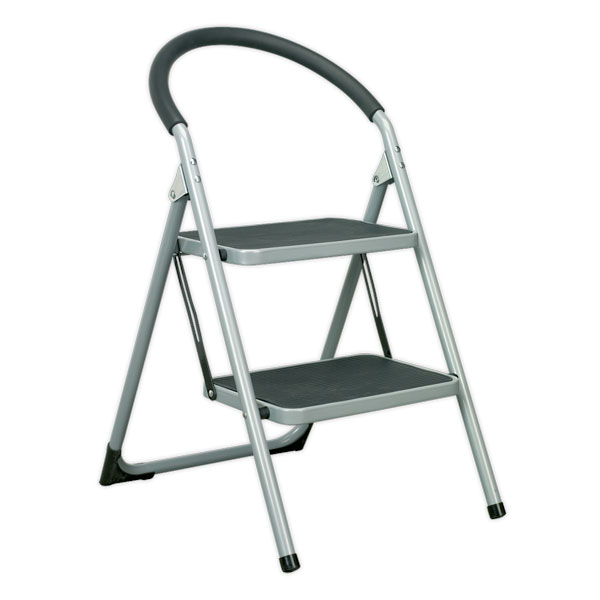 Sealey ASL2 Step Stool 2-Tread 150kg Capacity