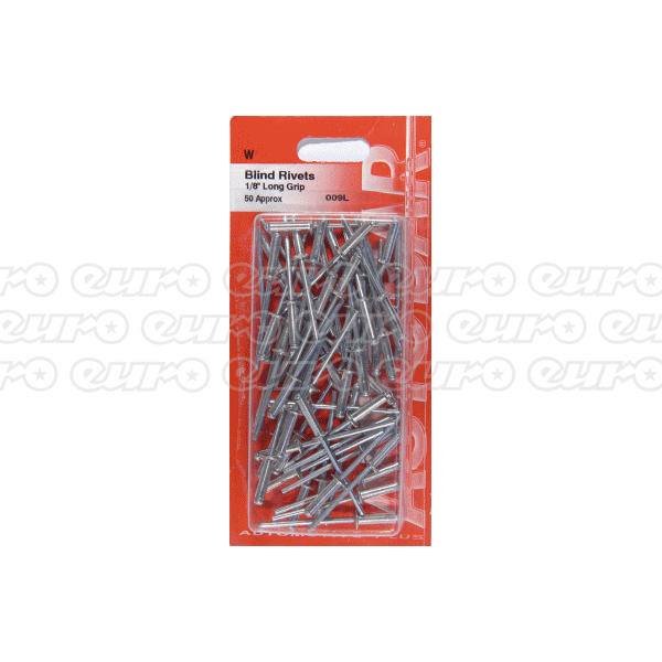 Autobar Long Grip Rivets 1/8 x 50