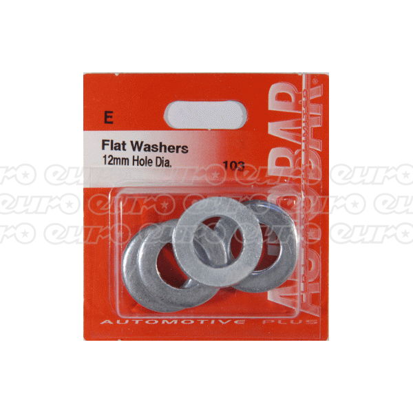 Autobar Flat Washers 12mm