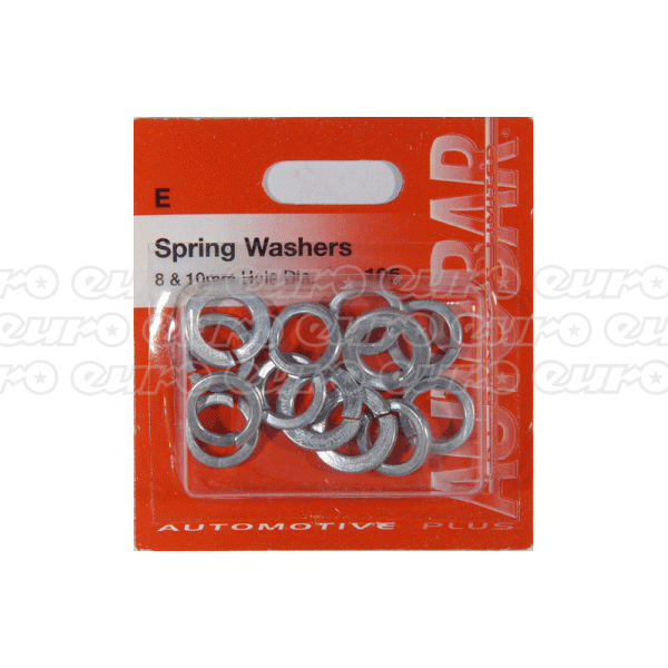 Spring Washers 8mm & 10mm