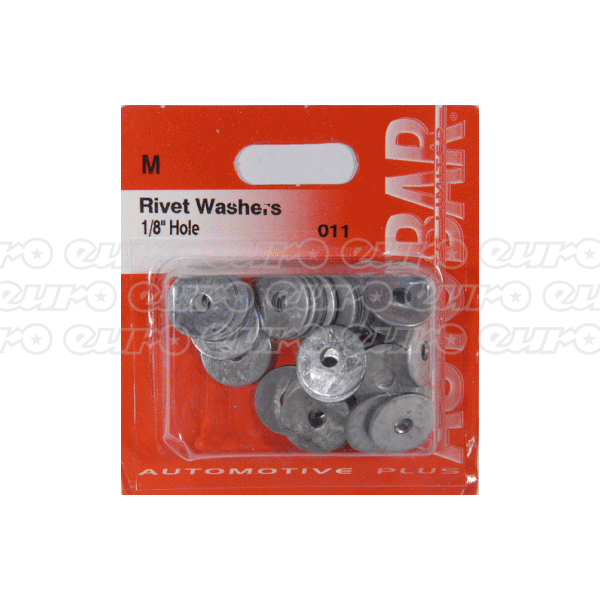 "Rivet Washers 1/8"" Hole"