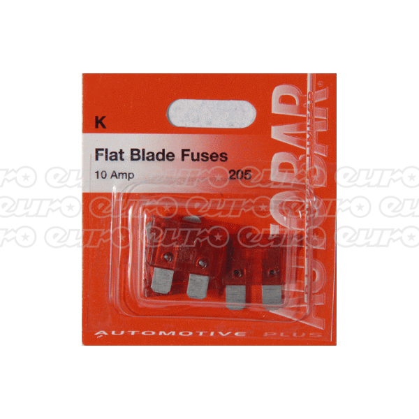 Flat Blade Fuses 10 Amp