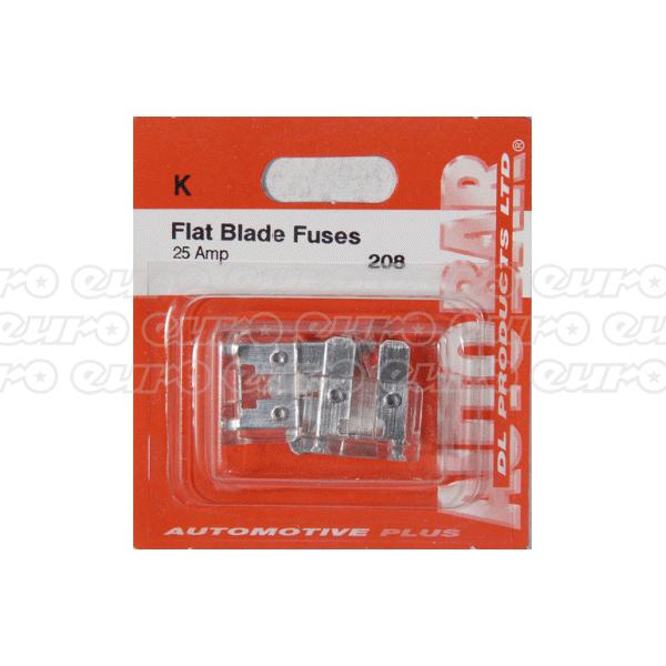 Flat Blade Fuses 25 Amp