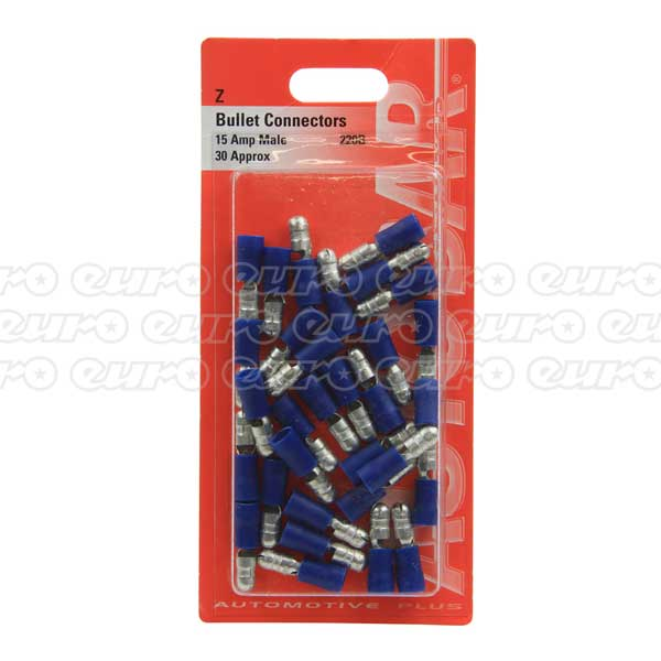 Autobar Male Bullets 15 Amp - 30 Pack