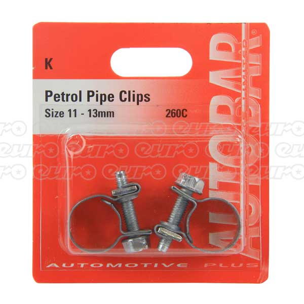 Petrol Pipe Clips 12 - 13mm