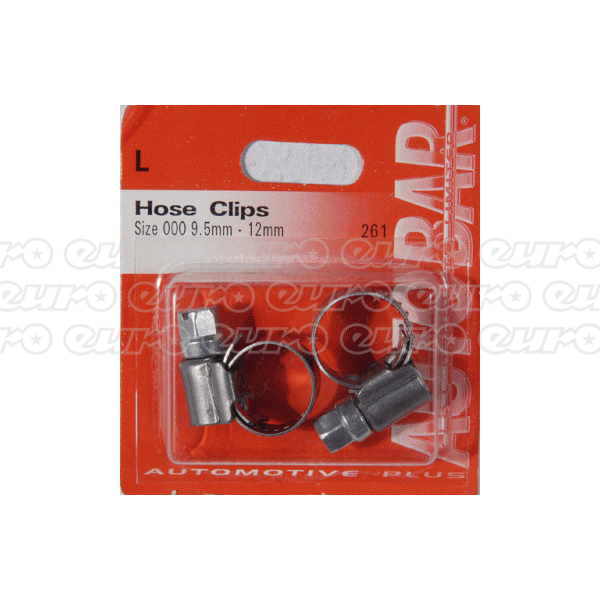 Hose Clips - Size 000 9-12mm