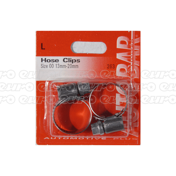 Hose Clips - Size 00 13-20mm