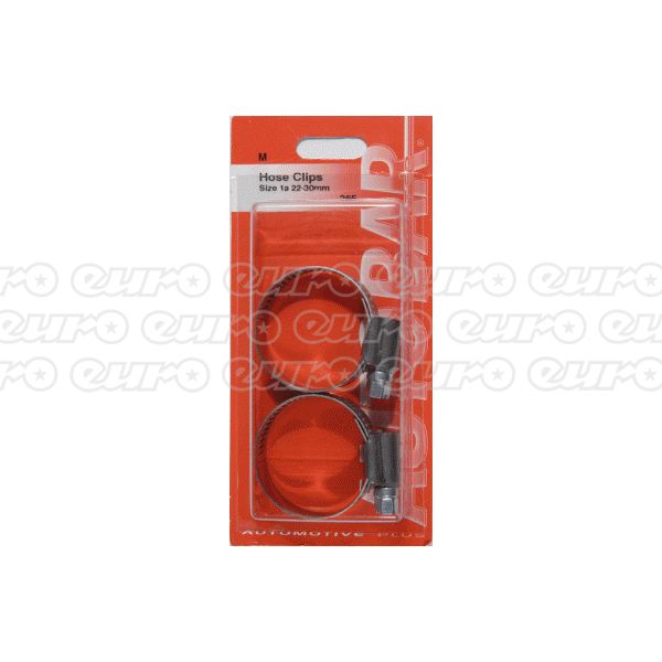 Hose Clips - Size 1A 22-30mm