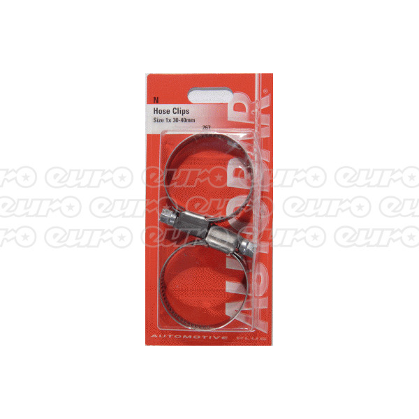 Hose Clips - Size 1x 30-40mm