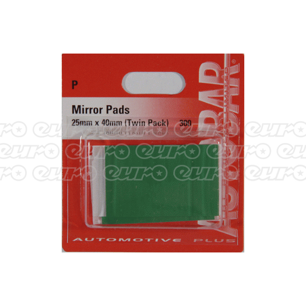 Autobar Mirror Pads (Twin Pack)