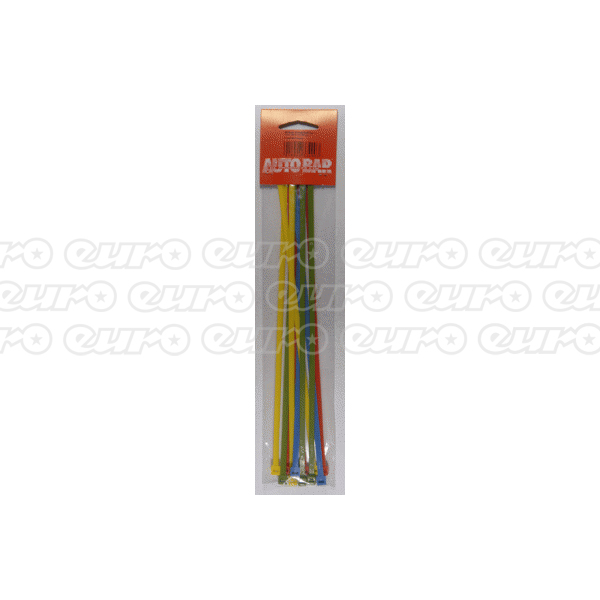 Autobar Coloured Cable Ties 295Mm Long