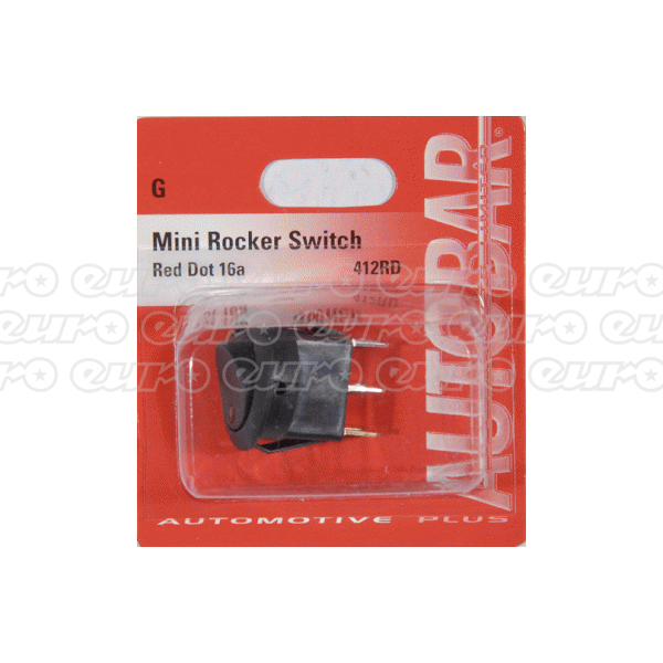 Autobar Rocker Switch Red Dot