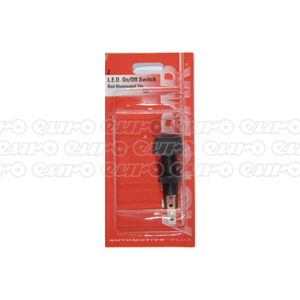 Autobar Push Push Switch Red LED