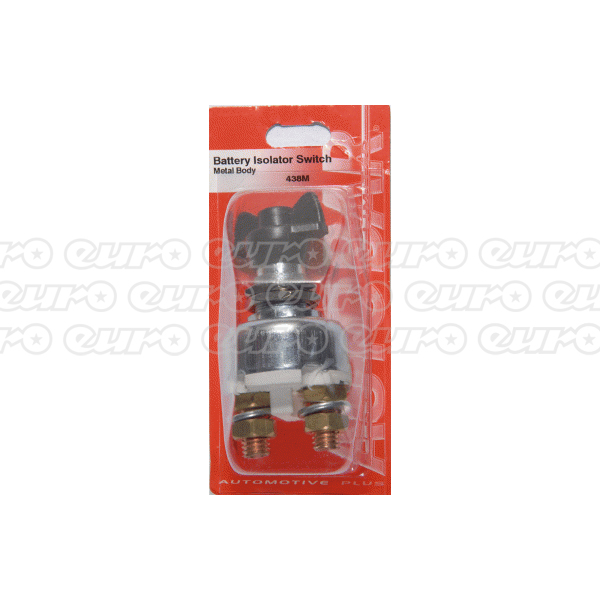 Autobar Isolator Switch Metal Body