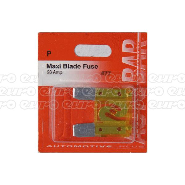 Maxi Blade Fuse - 20 Amp