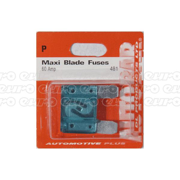 Maxi Blade Fuse - 60 Amp
