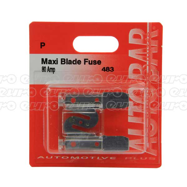 Maxi Blade Fuse - 80 Amp