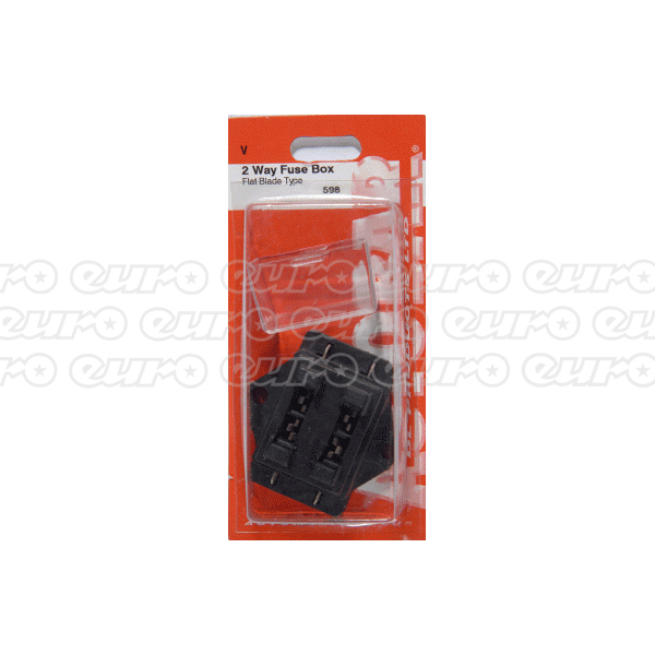 universal fuse boxes fuses relays euro car parts. Black Bedroom Furniture Sets. Home Design Ideas