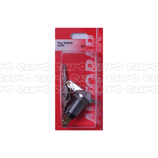 Autobar Key Switch Metal On/Off 6amp