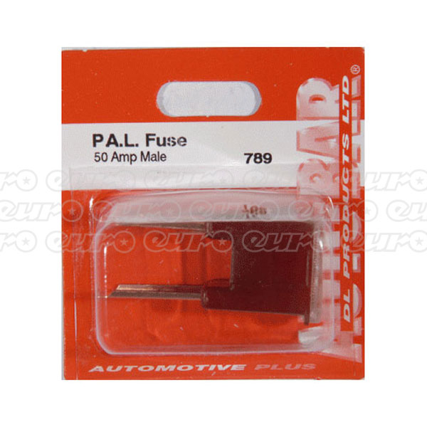 PAL Fuse Male 50amp Single