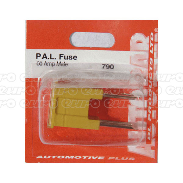 PAL Fuse Male 60amp Single