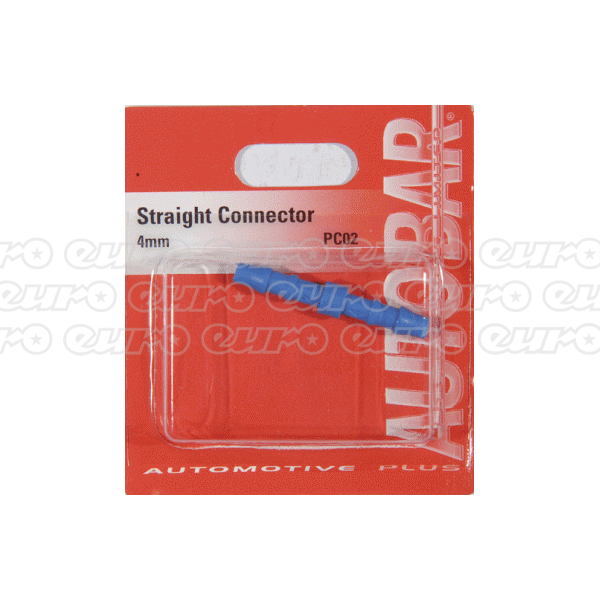 Straight Connector 4mm
