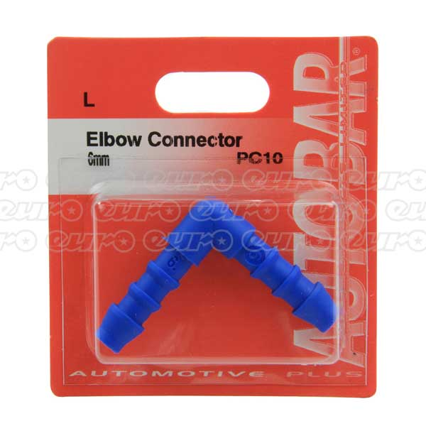 Elbow Connector 6mm