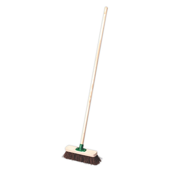 "Sealey BM12H Broom 12"" Stiff/Hard Bristle"