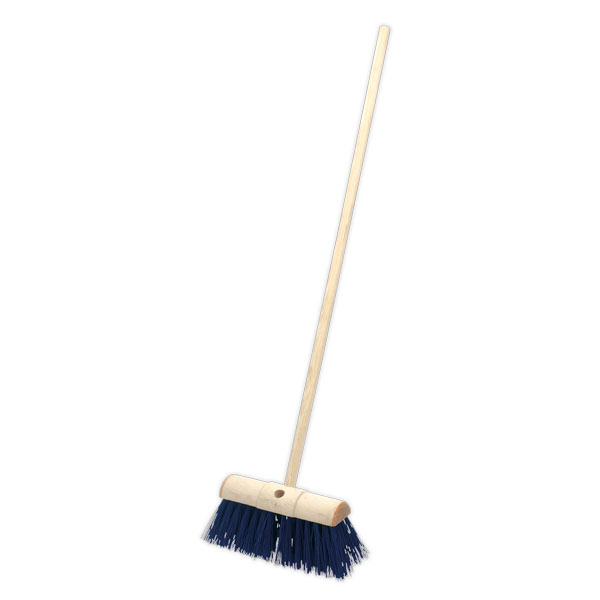 "Sealey BM13H Yard Broom 13"" Stiff/Hard Bristle"
