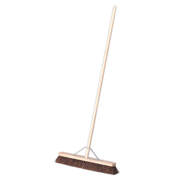"Sealey BM24H Broom 24"" Stiff/Hard Bristle"