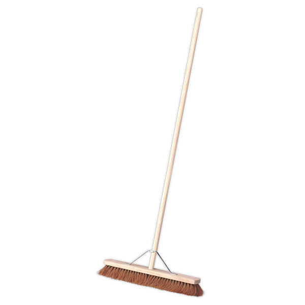 "Sealey BM24S Broom 24"" Soft Bristle"