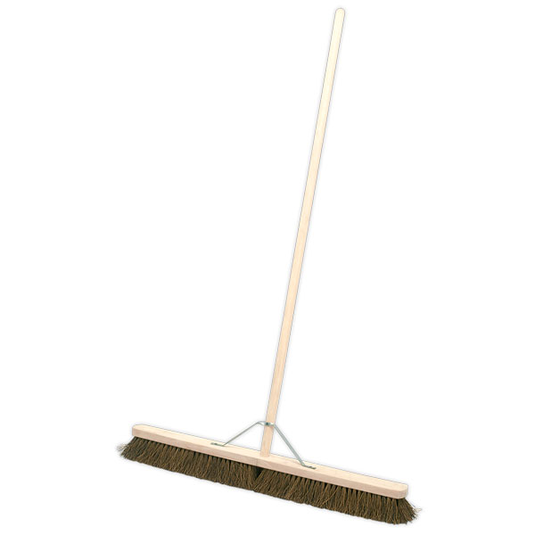 "Sealey BM36H Broom 36"" Stiff/Hard Bristle"