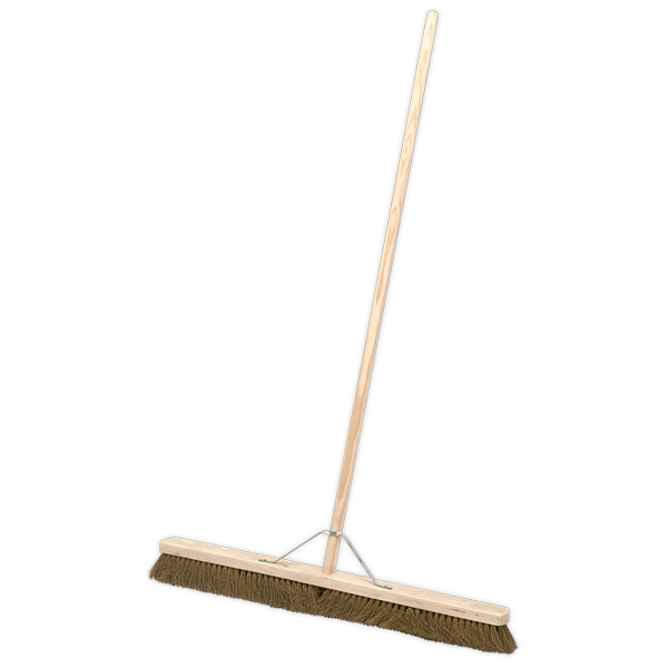 "Sealey BM36S Broom 36"" Soft Bristle"