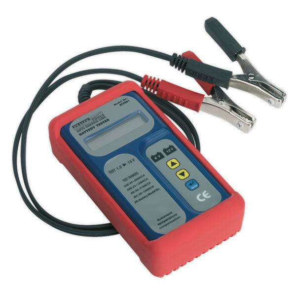 Sealey BT2001 Digital Battery Tester 6-12V