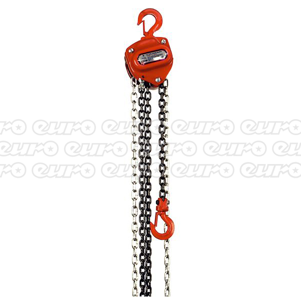Sealey CB500 Chain Block 0.5ton 2.5mtr