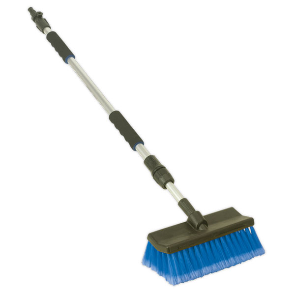 Sealey CC50 Large Angled Flo-Thru Brush with 1.7mtr Telescopic Handle