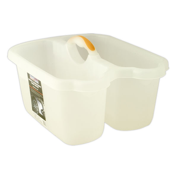 Sealey CC75 Double Compartment Wash Bucket