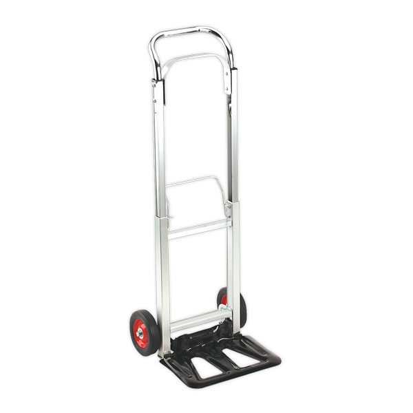 Sealey CST980 Sack Truck Folding Aluminium 90kg Capacity