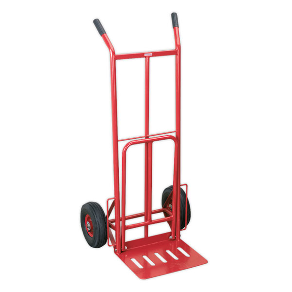 Sealey CST990 Sack Truck with Pneumatic Tyres & Foldable Toe 250kg Capacity