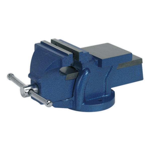 Sealey CV100E Vice 100mm Fixed Base Light-Duty