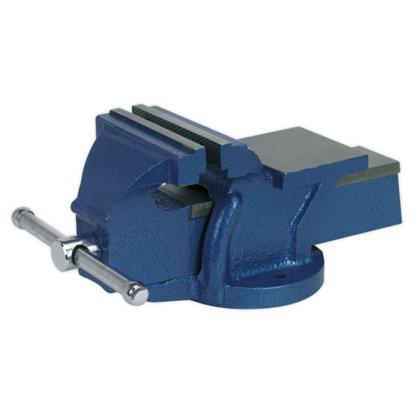 Sealey CV125E Vice 125mm Fixed Base Light-Duty