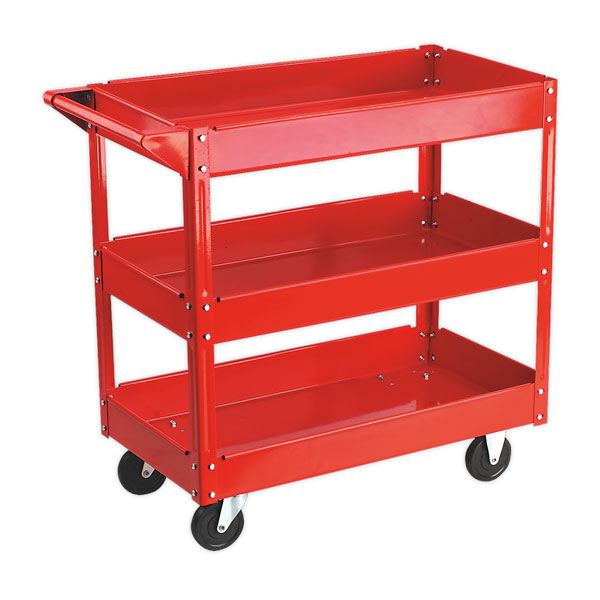 Sealey CX108 Trolley 3-Level Heavy-Duty