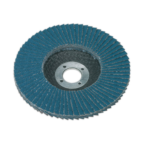 Sealey FD10060 Flap Disc Zirconium 100mm 60Grit