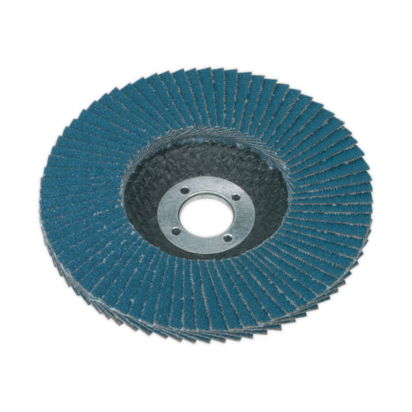 Sealey FD10080 Flap Disc Zirconium 100mm 80Grit