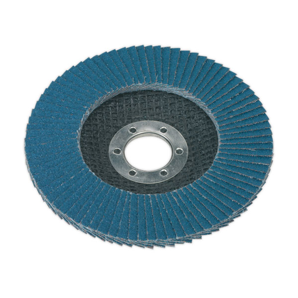 Sealey FD11540 Flap Disc Zirconium 115mm 40Grit