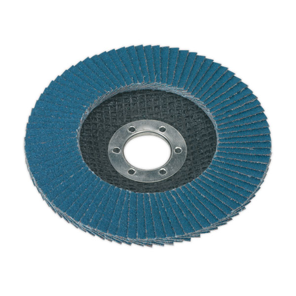 Sealey FD11560 Flap Disc Zirconium 115mm 60Grit