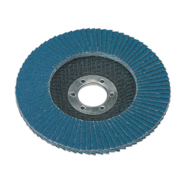 Sealey FD11580 Flap Disc Zirconium 115mm 80Grit