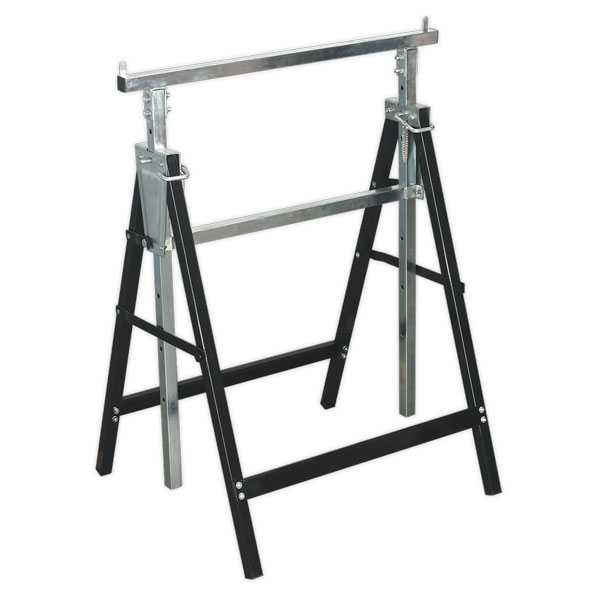 Sealey FDT3 Fold Down Telescopic Trestle 100kg Capacity
