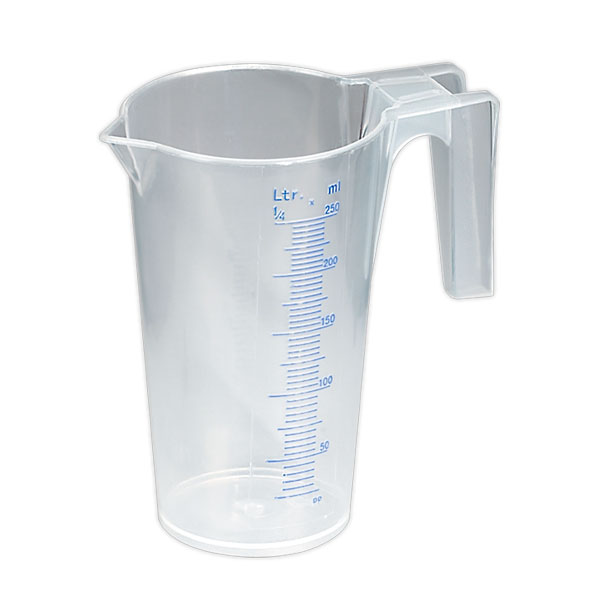 Sealey JT0250 Measuring Jug Translucent 0.25ltr